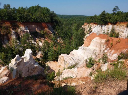 Little Grand Canyon, Lumpkin, GA.